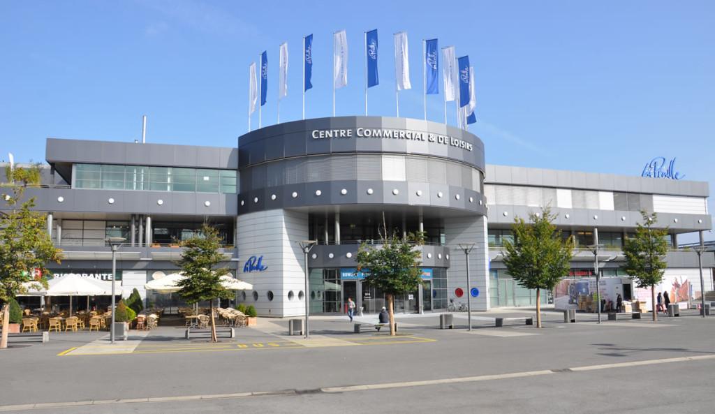 Centre commercial de la praille gen ve plafonmetal sa - Centre commercial la jonquera ...